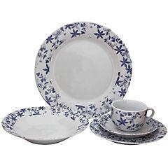 Juego de vajilla 20 piezas porcelana Quillay