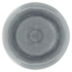Plato esmaltado gris 22,5 cm