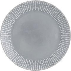 Plato ensalada gris 22 cm