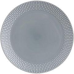 Plato fondo gris 27 cm