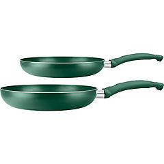 Pack sartenes 20 y 26 cm verde