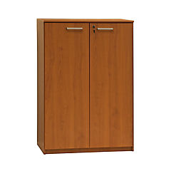 Gabinete 80x45x118 madera aglomerada/melamina color peral