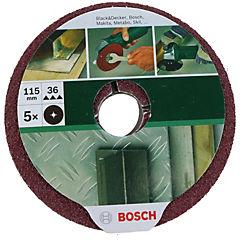 Fibro disco 115mm grano 36