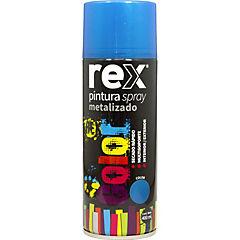 Pintura spray metálico 400 ml azul