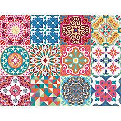 Set 12 vinilos adhesivos 15x15 cm Valparaíso