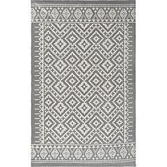Alfombra Aztec gris 150x240 cm