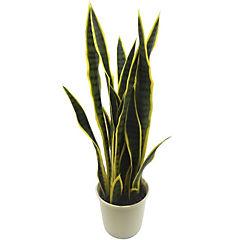 Planta artificial Sansevieria 75 cm