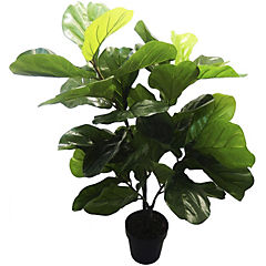 Planta artificial Ficus Lyrata 120 cm