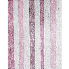 Mantel rectangular rayas 180x280 cm rosado