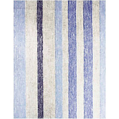 Mantel rectangular linea 160x240 cm azul