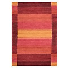 Alfombra 160x230 cm líneas multicolor