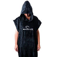 Poncho toalla negro