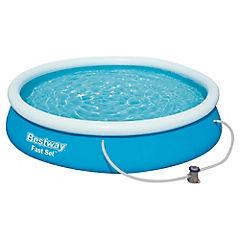 Set piscina 366x76 cm + bomba 330 gl