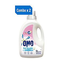 Combo 2 detergentes líquidos para piel sensible 3 litros