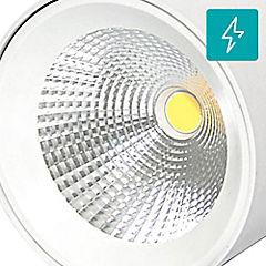 Plafón led 10w luz calida sobrepuesto