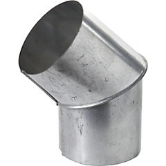 Codo para tubo Acero galvanizado 4