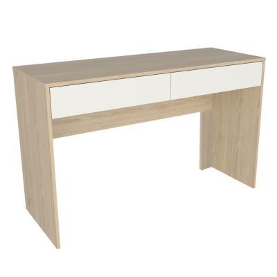 Escritorio 120x45x75 cm oak/blanco