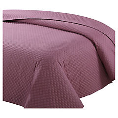 Quilt color rosa 1,5 plazas