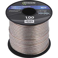 Rollo de cable para parlante 100m cobre
