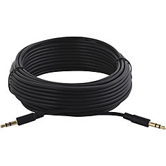 Cable stereo plug 3.5mm 10m