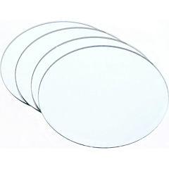 Set 4 espejos 19x19 cm