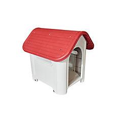 Casa plástica pequeña