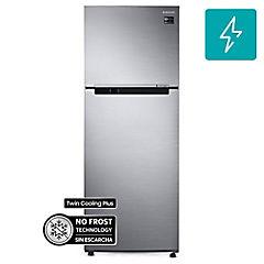 Refrigerador no frost top mount freezer 384 litros inox