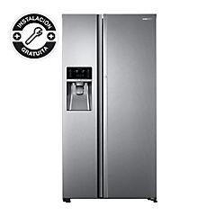 Refrigerador side by side 575 litros gris