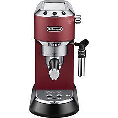 Cafetera espresso / capuccino manual, dedica roja