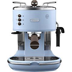 Cafetera Espresso / capuccino manual icona vintage celeste