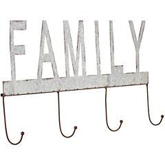 Perchero family 26x5x55 cm
