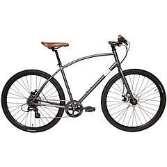 Bicicleta Hibrida Aro 28 negro. 8 velocidades, talla S