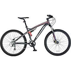 Bicicleta 27,5 aggressor dsx gris mate