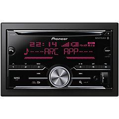 Radio 2 DIN con CD/bluetooth salida auxiliar