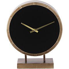 Reloj de mesa 40x34 cm negro