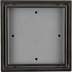 Desague cuadrado 14,6x14,6 cm acero