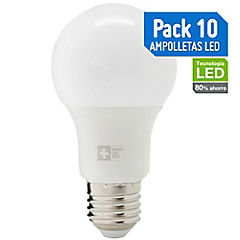 Pack De Ampolletas LED E27 7W Amarilla