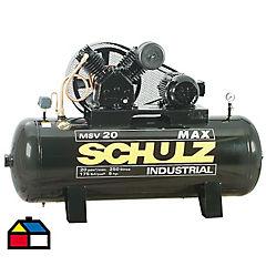 Compresor 5HP 250 litros 380 volts