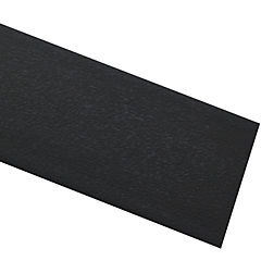 Tapacanto PVC encolado grafito 10 m