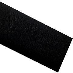 Tapacanto PVC encolado negro 10 m