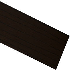 Tapacanto PVC encolado coigue chocolate 10 m