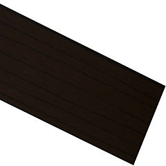 Tapacanto PVC coigue chocolate 10 m