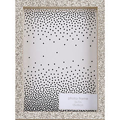 Marco 13x18 cm madera con Purpurina Negro