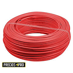Cable thhn plus 12 awg rojo rollo 100 ml