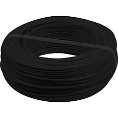 Cable thhn plus 12 awg negro rollo 100 ml