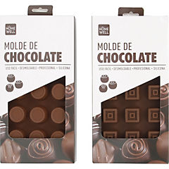 Molde chocolate silicona 21x11 cm