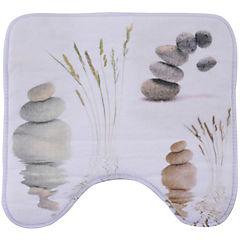 Alfombra de baño 45x45 cm impresión piedras