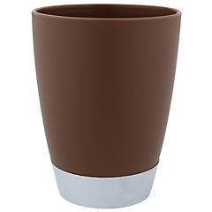 Vaso para enjuague bucal café