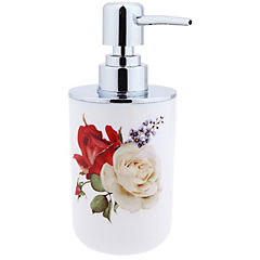 Dispensador de jabón diseño rosas