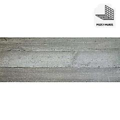 Porcelanato esmaltado impresión digital 30x90 cm café 1,08 m2